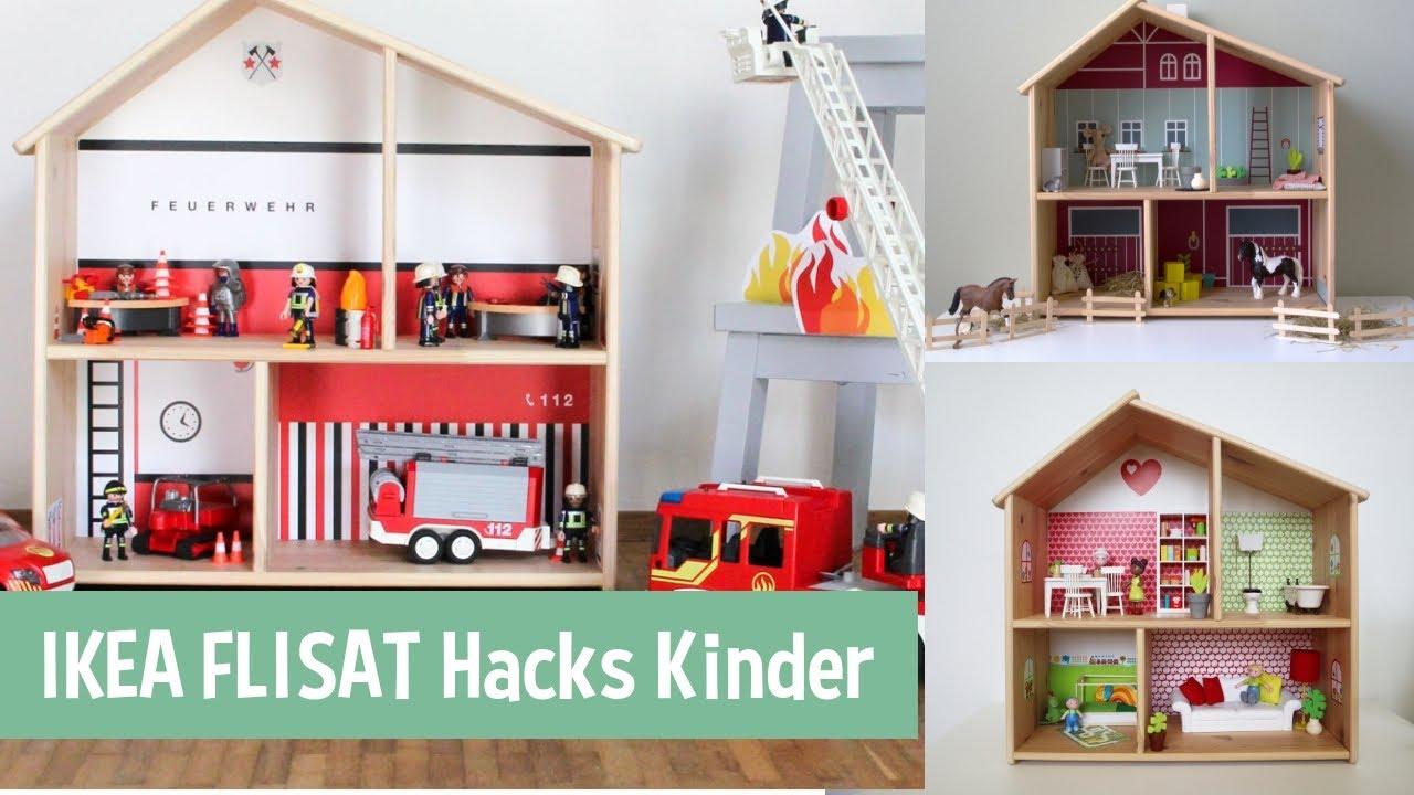 5 Ikea Flisat Hacks Puppenhaus Fur Madchen Und Jungen Gestalten