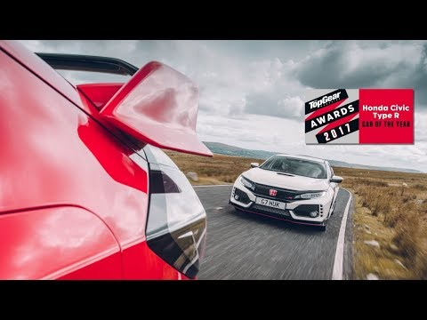 Top Gear Car Of The Year 2017 - Honda Civic Type R Wins!