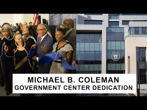 Michael B. Coleman Governmental Center Dedication