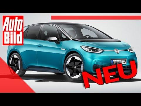 VW ID.3 (2020): Auto - Test - Sitzprobe - Kompakt - Elektro - MEB