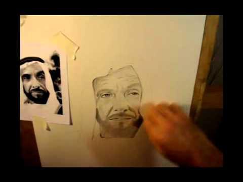 رسم الشيخ زايد Youtube