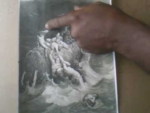 The Deluge (Flooding) -Reniassance Artist Details Genetic Manipulations-Same With Noah