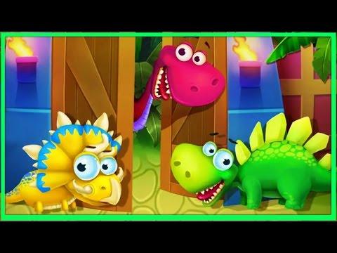 🐱🐉Dinosaur Park - Dino Baby Born | Dinosaur Games for Kids, Learning Games for Children🐱🐉