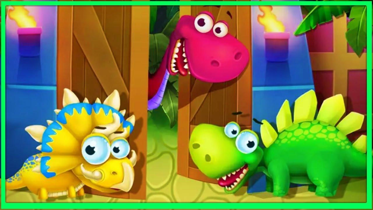 Dinosaur Park - Dino Baby Born | Dinosaur Games for Kids