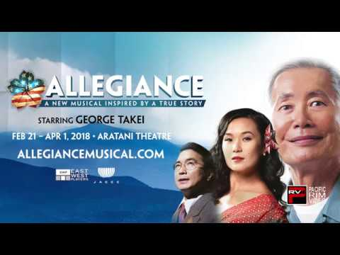 """Allegiance"" premieres in Little Tokyo Presented by East West Players and JACCC"