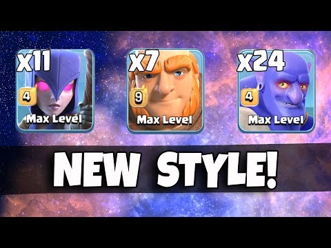 11 Max Witch 24 Max Bowler 7 Giant | New Meta Ground Army 3 Star Th12 Max Level | New Th12 War Style