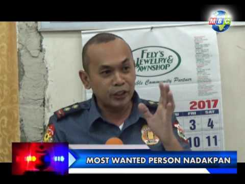 MBC OZAMIZ SPECIAL REPORT-Number 2 Most Wanted in Mis Occ arrested