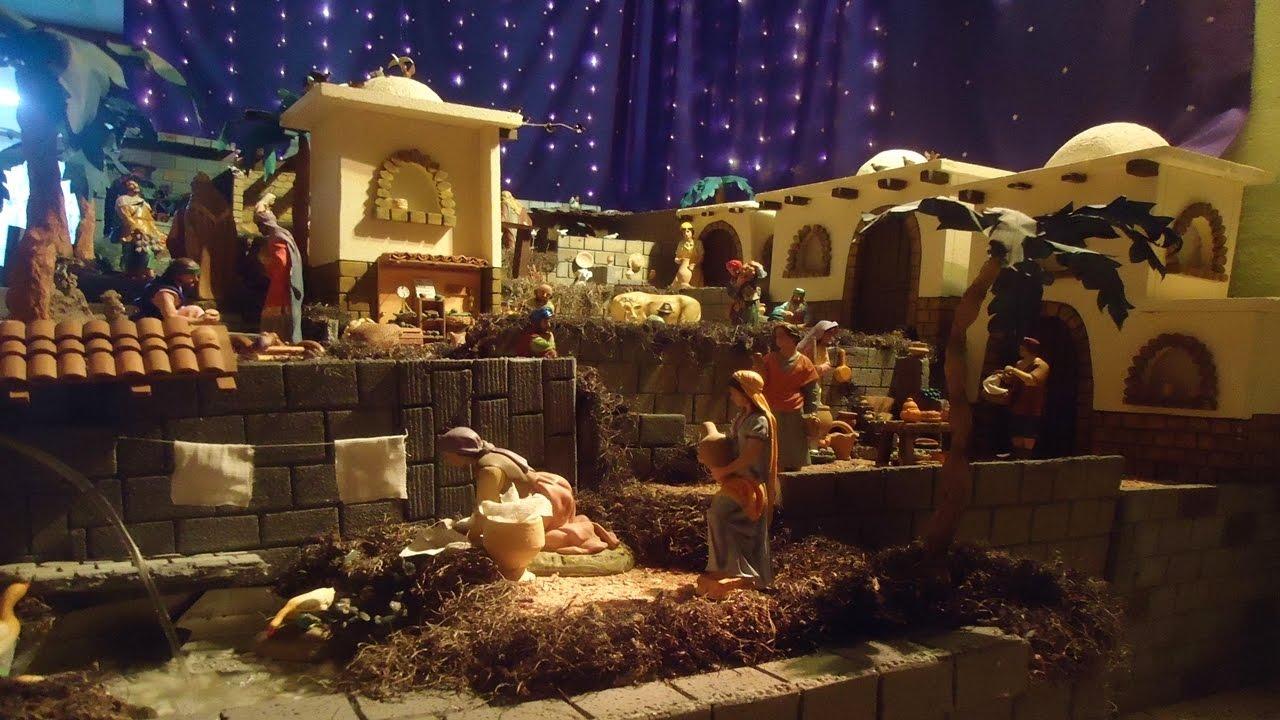 c85b282577f Nacimiento Navideño - Pesebre de Navidad - Portal de Belén - YouTube