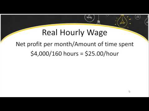Calculating Your Real Hourly Wage