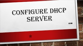 Configuring DHCP server on Linux