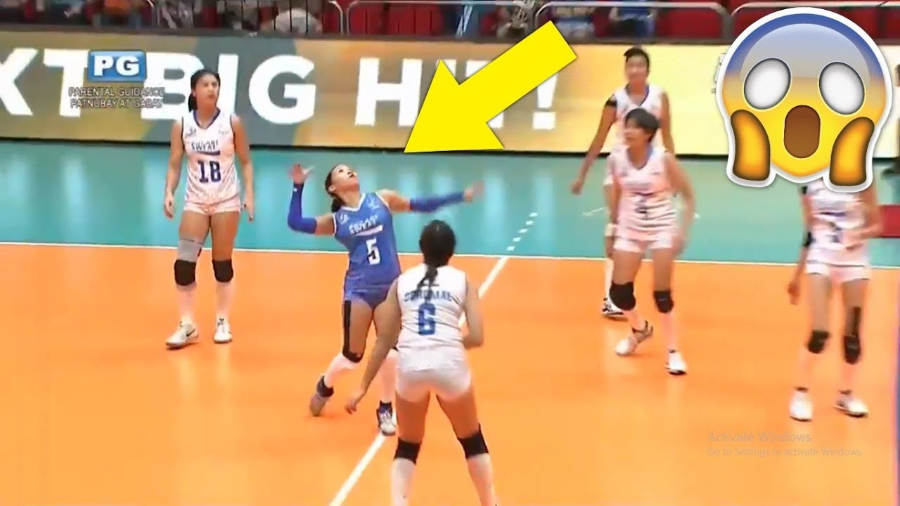 Libero Spike Best Volleyball Libero Actions Hd Youtube