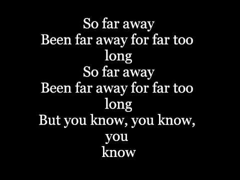 Nickelback  Far Away with Lyrics