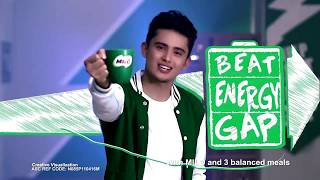 James Reid Dance Collection Beat Energy Gap, Champ Energy Move With Milo