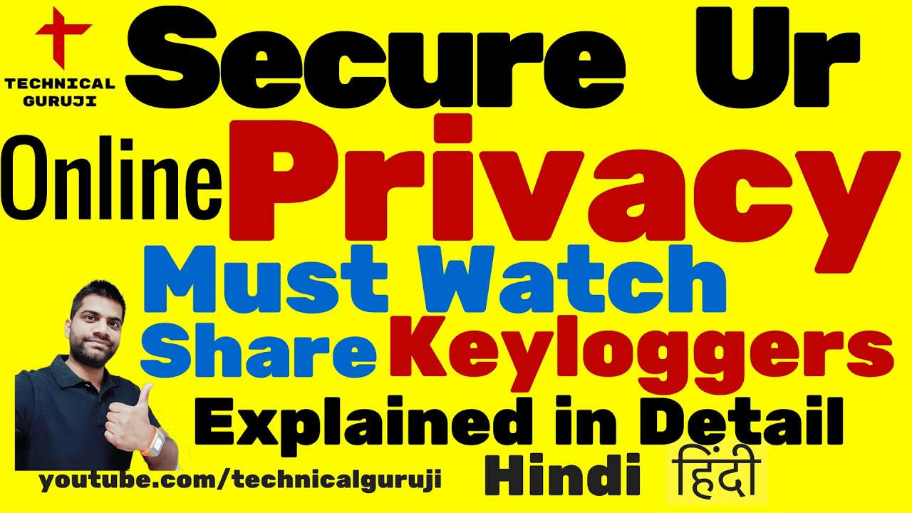 [Hindi] Secure Your Online Privacy | Don't Miss | Stay Safe