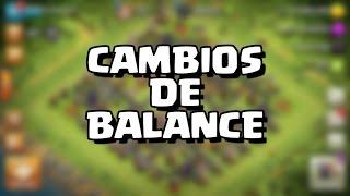 CAMBIOS EN EL BALANCE | Actualización | Clash of Clans con TheAlvaro845 | Español