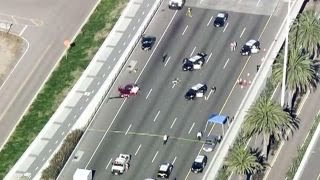 Officer-involved shooting on Bay Bridge in California