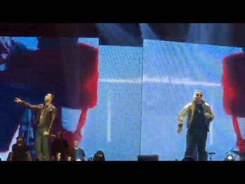 Daddy Yankee invitado sorpresa de Romeo santos en el Coliseo de Puerto Rico