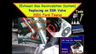 replacing an egr valve 2001 ford taurus