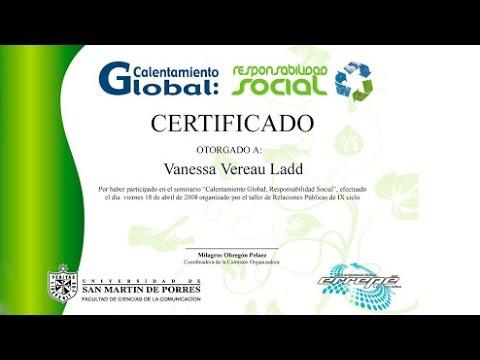 C Mo Hacer Un Certificado En Word YouTube