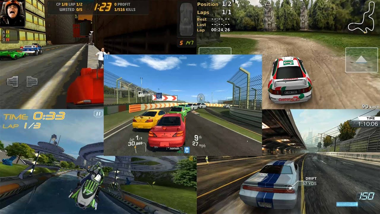 Top 5 best android racing games galaxy s4