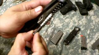 kahr pm9 field strip how to by ussquads