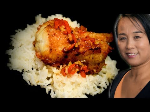 Monkfish With Lime & Chilli Sauce Chinese Style Recipe (by Xiao's Kitchen)