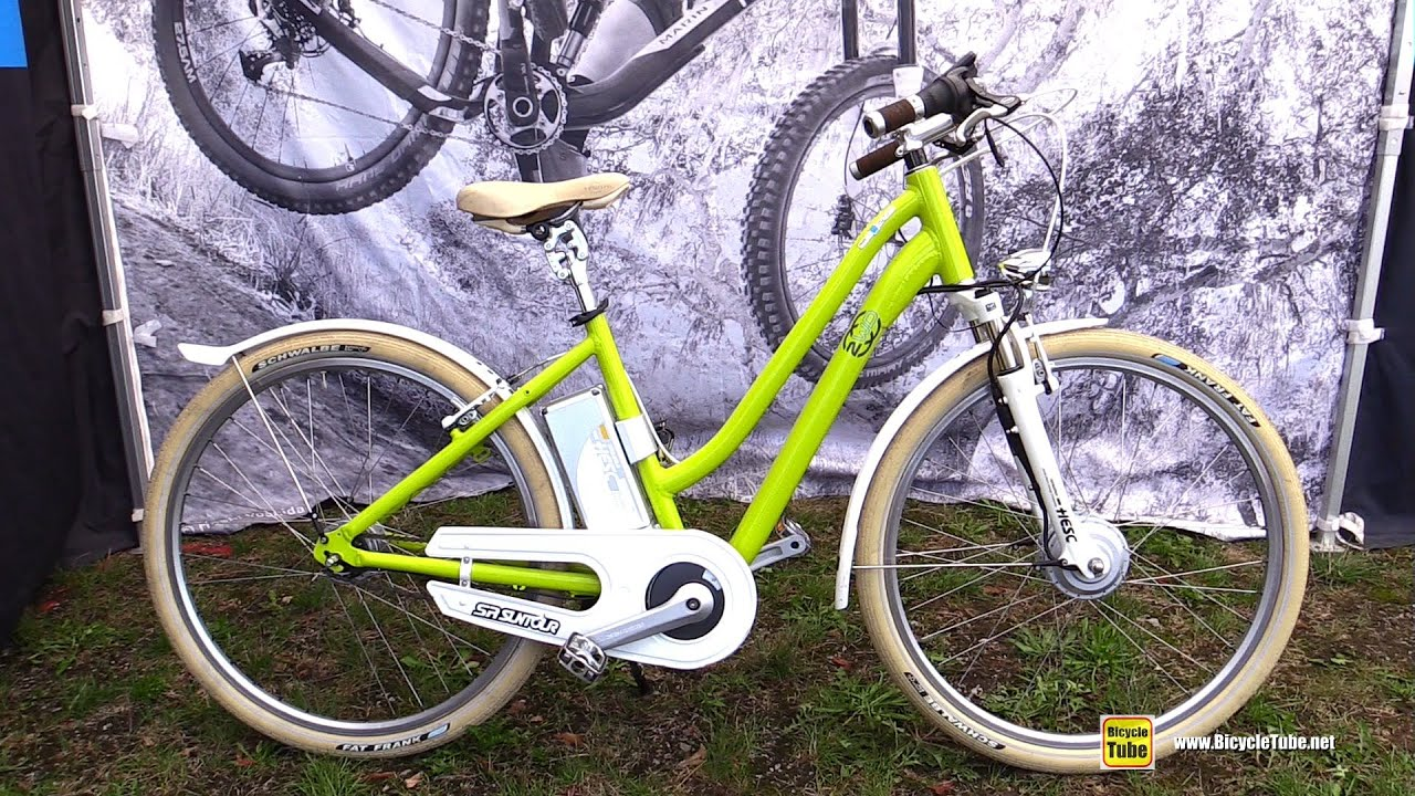 2016 Sr Suntor Pedalec Electric Two Wheel Drive Bicycle