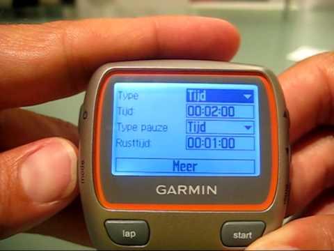 Garmin Forerunner 310XT HRM 2/2 - YouTube