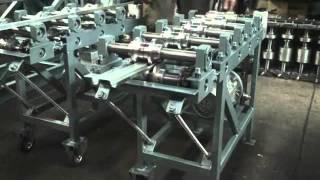 Станок для производства шляпного профиля СПО(Работа профилировочного станка для изготовления шляпного профиля., 2011-09-09T10:36:33.000Z)