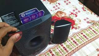 F&d f210x Bluetooth speaker unboxing & review...