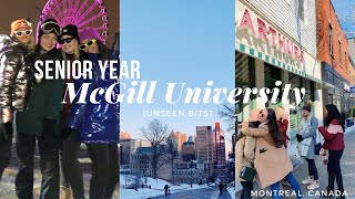 my final year of university in montreal, quebec (unseen bits)