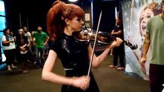Repeat youtube video Lindsey Stirling Titanium Violin Unplugged