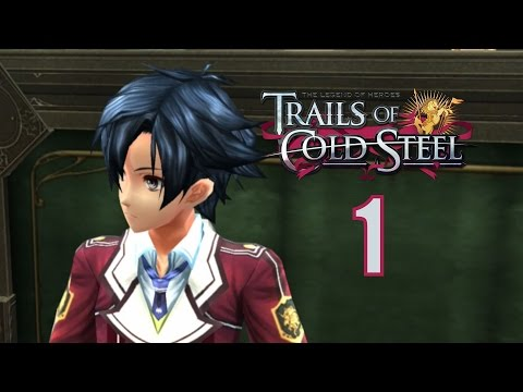 The Legend Of Heroes: Trails Of Cold Steel PS3 / PS Vita Let's Play Walkthrough Part 1