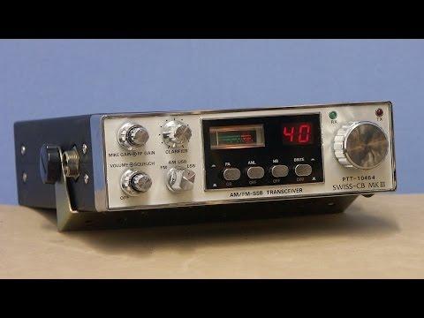 SWISS CB MK III (challenger IV) 40 ch CB radio  never realized