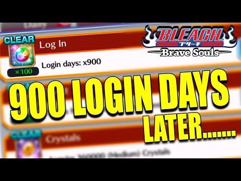 900 LOGIN DAYS TICKET SUMMONS Bleach Brave Souls