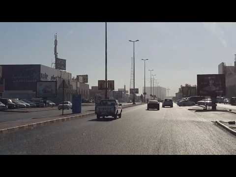 Roads to downtown Jahra, Kuwait *Winter Time