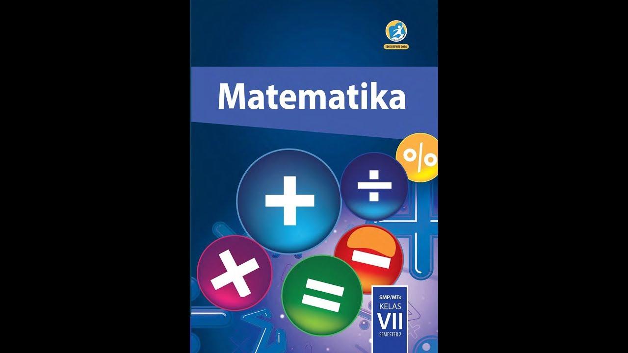 Jawaban Soal Matematika Kelas 7 Ayo Kita Berlatih 6 2 Nomor 1 5 Uraian Youtube
