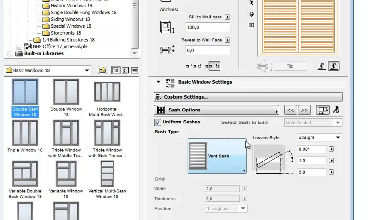 table on pdf in archicad