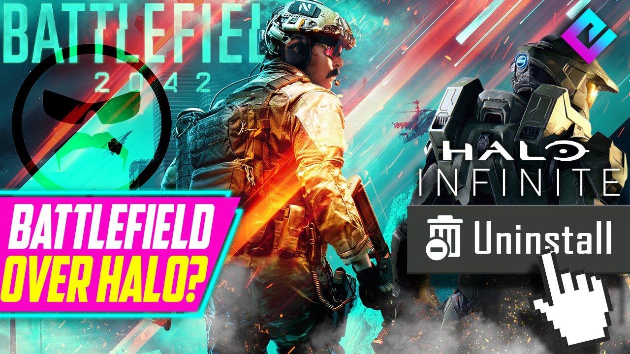 Доктор Неуважение объясняет, почему он предпочитает Battlefield 2042  Halo Infinite