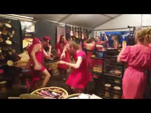 Threeworlds shop at Woodford folk festival 2017