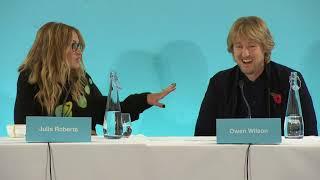 Wonder Global Press Conference with Julia Roberts and Owen Wilson || #SocialNews.XYZ
