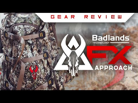 Badlands Packs Approach Fx Rise Gear Review!
