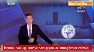 HDP Mitingi İçin Kazlıçeşme'de İzin Verilmedi