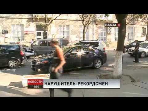 Полицейские в Кишиневе устроили погоню, чтобы задержать пьяного наркомана (видео)