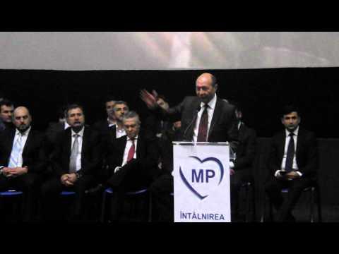 Traian Băsescu vorbeste la Cluj despre atentatele de la Paris II