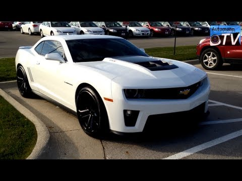 2013 Chevrolet Camaro ZL1 (580hp) - First Impression (1080p FULL HD ...