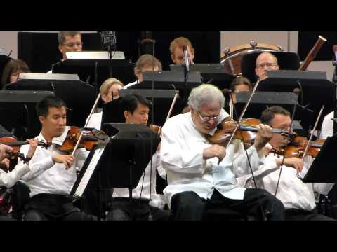 Itzhak Perlman Tchaikovsky Violin Concerto in D, Hollywood B