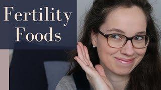 My 9 favorite fertility boosting foods