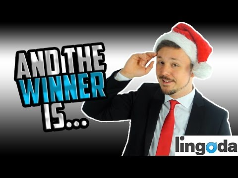 GIVEAWAY AND CONSOLATION PRIZE WINNERS | Lingoda And Get Germanized