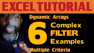 Excel Dynamic Arrays: 6 Examples of FILTER with Multiple Criteria